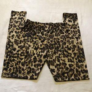 Rue 21 sexy leopard animal print leggings